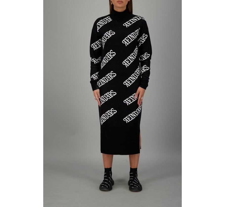 Dress all over True Black