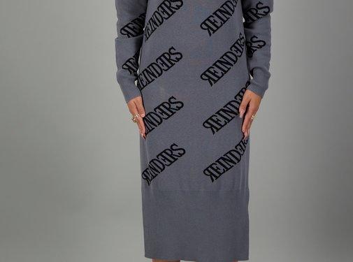 Reinders Dress all over Metal Grey