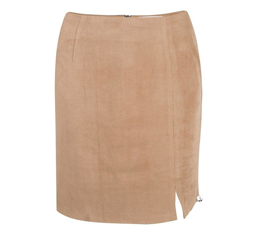 Skirt suede