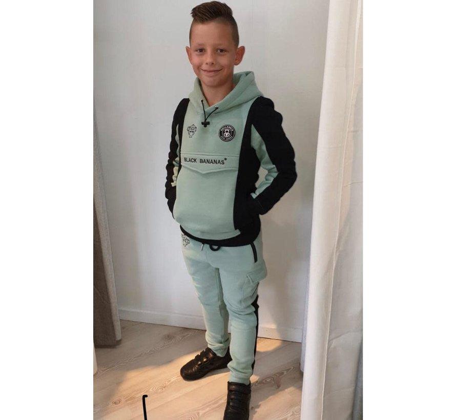 Anorak Block Joggers Kids