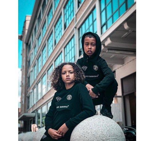Black Bananas Kids Anorak Basic Hoody Black