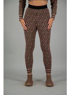 Reinders RR Print Pants Woodsmoke
