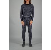 Reinders RR Print Sweater Metal Grey