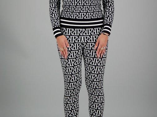 Reinders RR Print Sweater Black