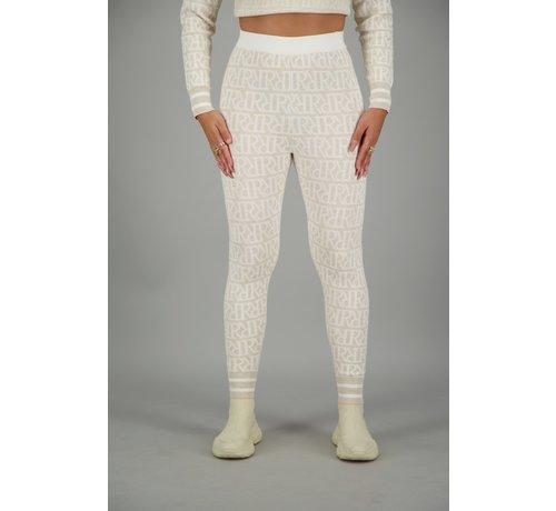 Reinders RR Print Pants Creme