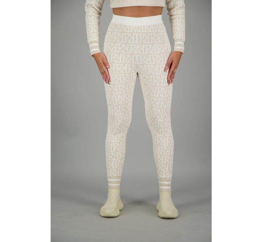 RR Print Pants Creme