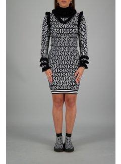 Reinders Marie Ruffle Dress RR Print