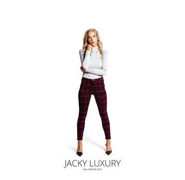 Jacky Luxury Top Rib Lurex Silver