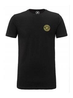 Concept R (Kids) Brand Tape Shirt Black / Yellow