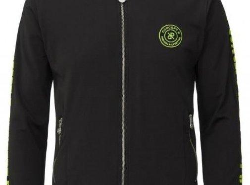 Concept R Track Jacket Taped Black Fluor