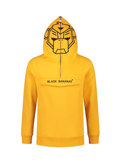 Black Bananas Anorak Incognito Yellow