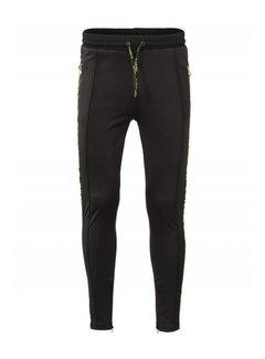 Concept R KIDS Track Pants Taped Black Fluor