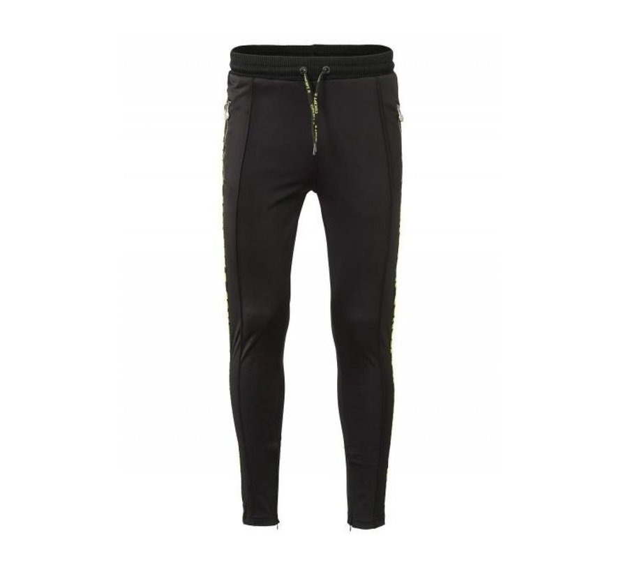 Track Pants Taped Black Fluor
