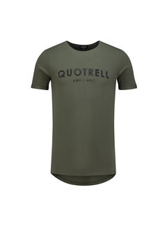 Quotrell Brand Tee Army / Black