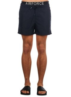 Airforce Swimshort Waistedband Black