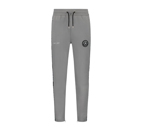 Quotrell Trash Trackpants Grey / Fuchsia