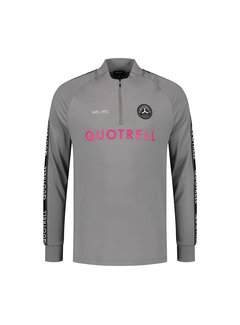 Quotrell Trash Top Grey / Fuchsia