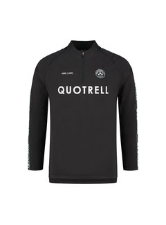 Quotrell TRASH TOP BLACK/WHITE
