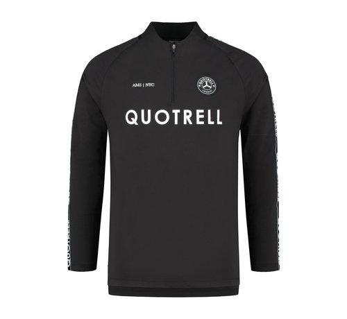 Quotrell TRASH TOP BLACK/WHITE