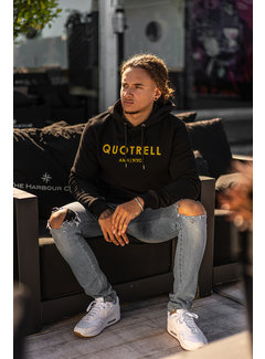 Quotrell Hoodie Uniform Black / Yellow