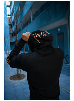 Malelions Hoodie Black/Orange