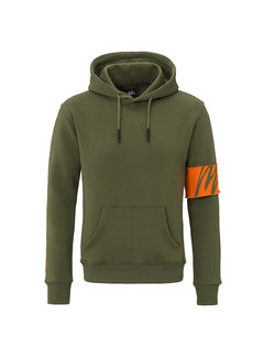 Malelions Hoodie Army/Orange