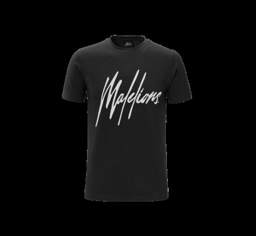 Malelions T-Shirt Black/White