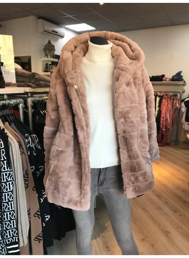 Teddy Coat Taupe