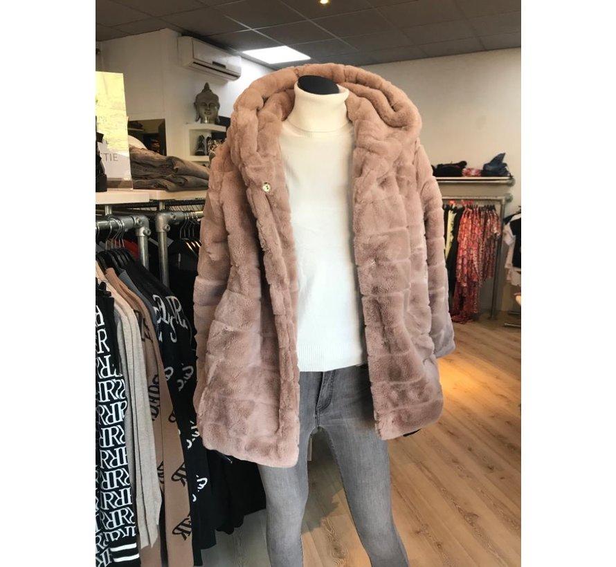 Teddy Coat Taupe