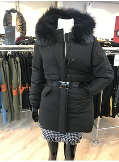 Jacky Luxury Parka fur with belt