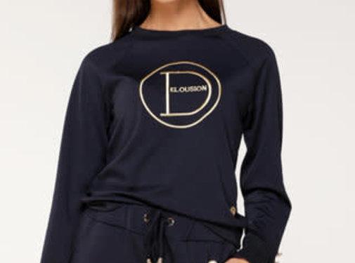 Delousion Sweater Nora Blue
