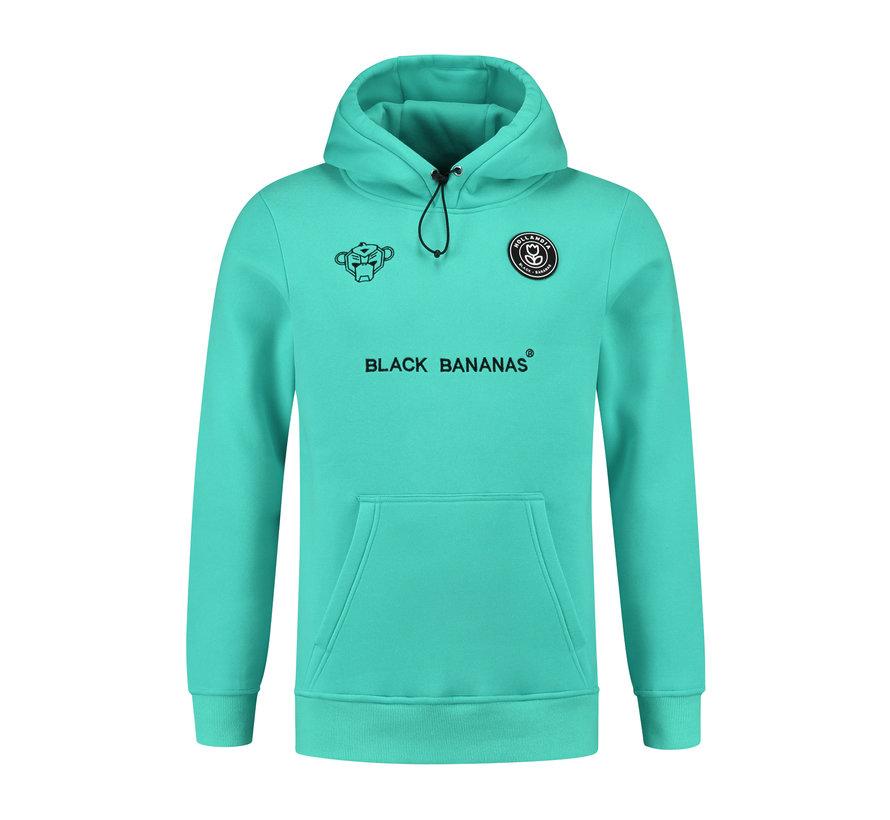 The F.C. Basic Hoody Aqua