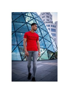 2Legare T-shirt Embrody Red/Black