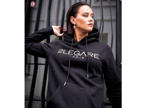 2Legare Hoodie Black/Gold