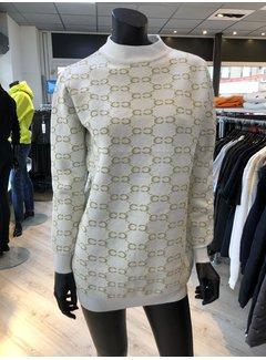 New Design Sweater Ecru