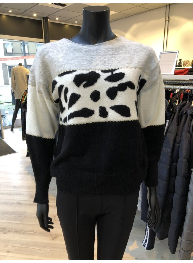 Sweater Print Black