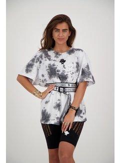 Reinders T-Shirt Reinders Tie Dye White/True Black