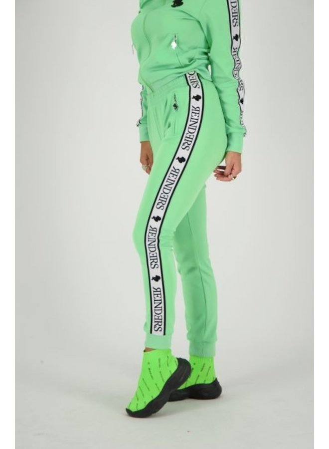 Tracking pants neon green