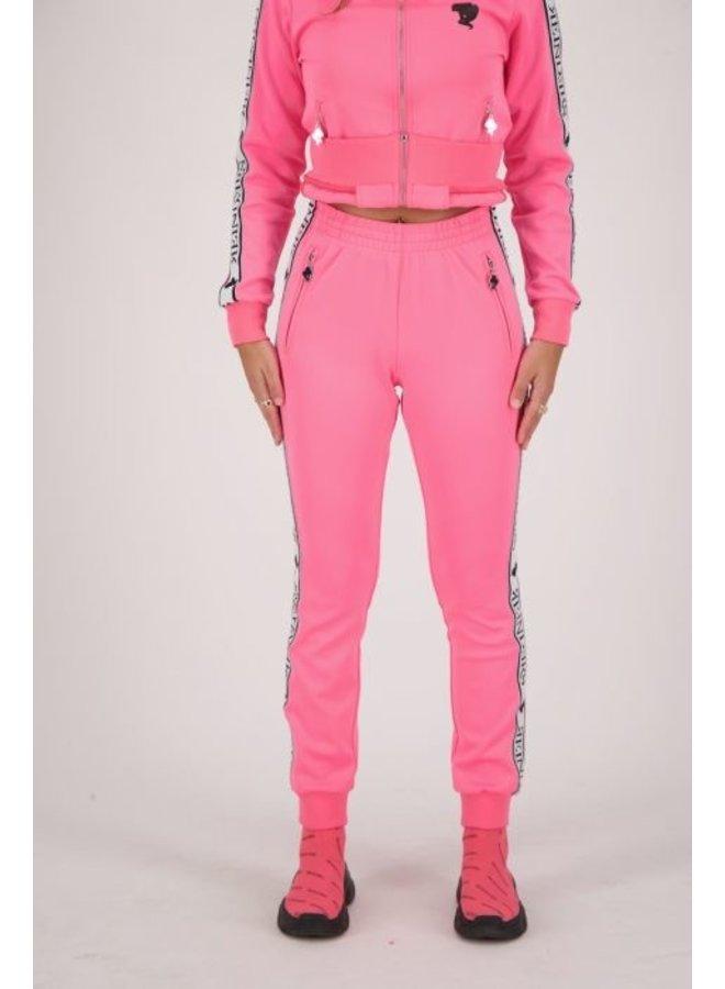 Tracking pants neon pink