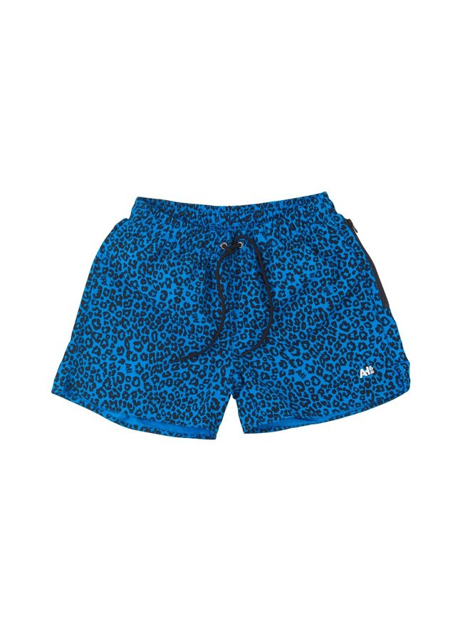 Swimshort Panther Blauw
