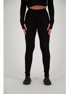 Reinders Twin Set pants Lurex Zwart