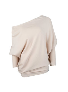 Jacky Luxury Pullover off-shoulder