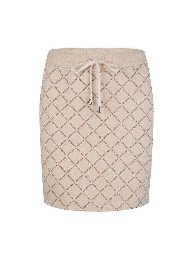 Skirt all over print