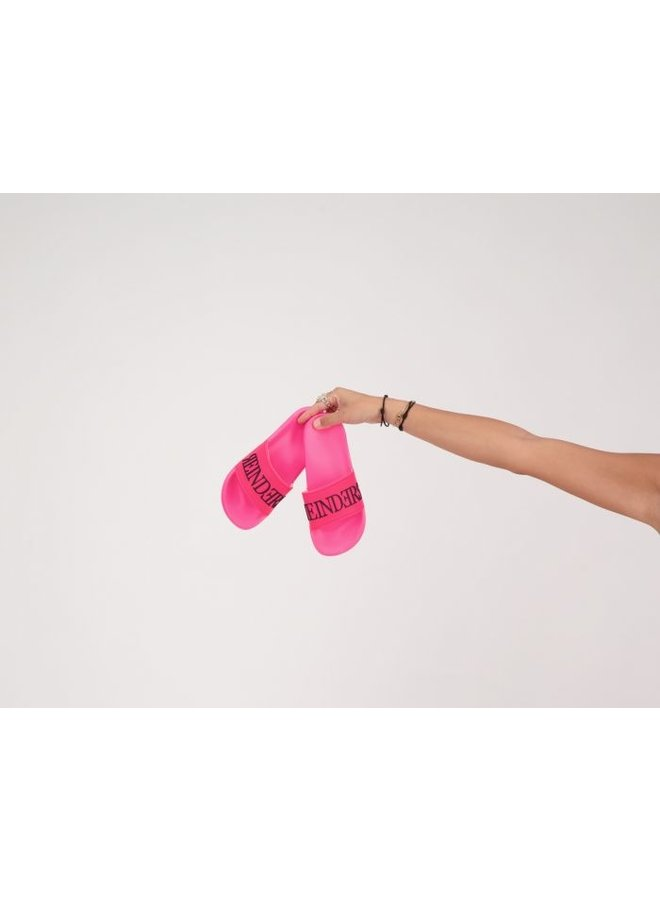 Slides Neon Pink