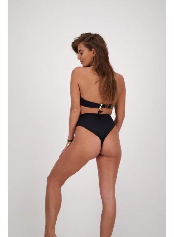Bikini Halter Top True Black