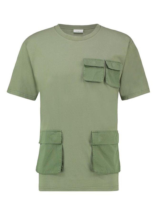 UTILITY T-SHIRT ARMY GREEN