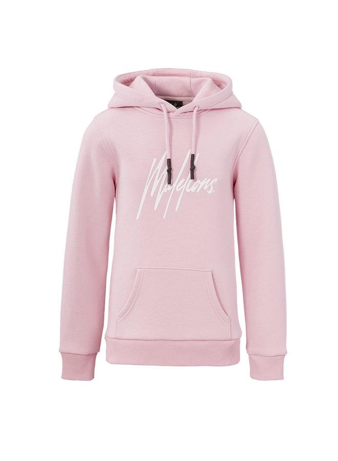 Hoodie Junior Signature Light Pink
