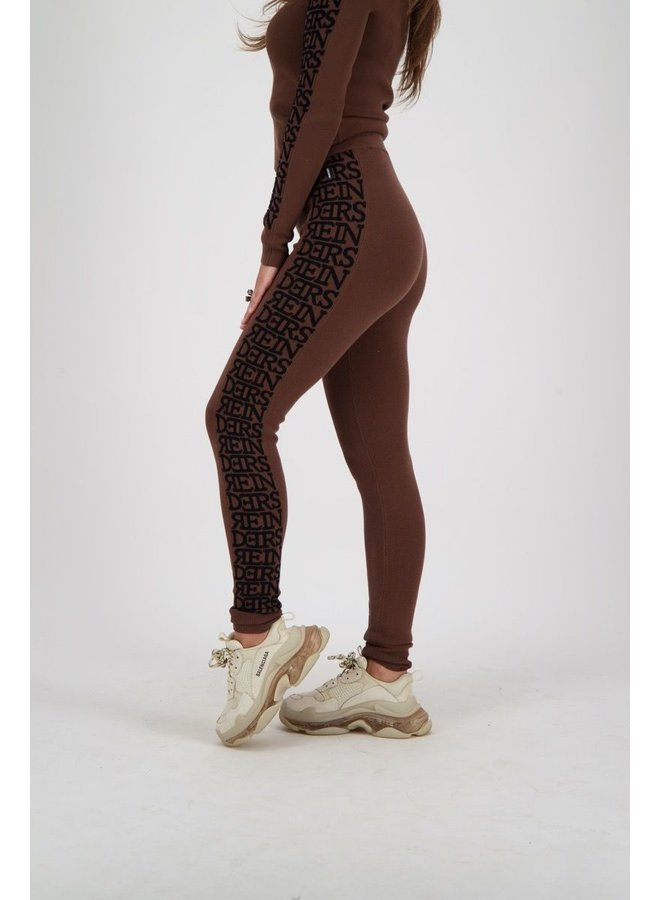 Pants 3D Artwork Sides Dark Brown