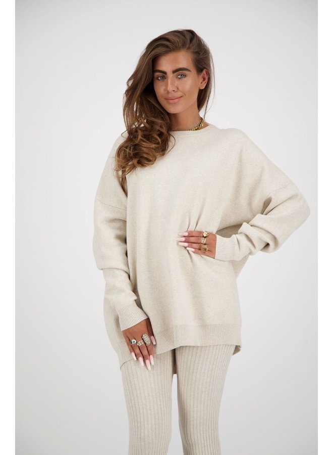 Sweater Reinders Back Creme