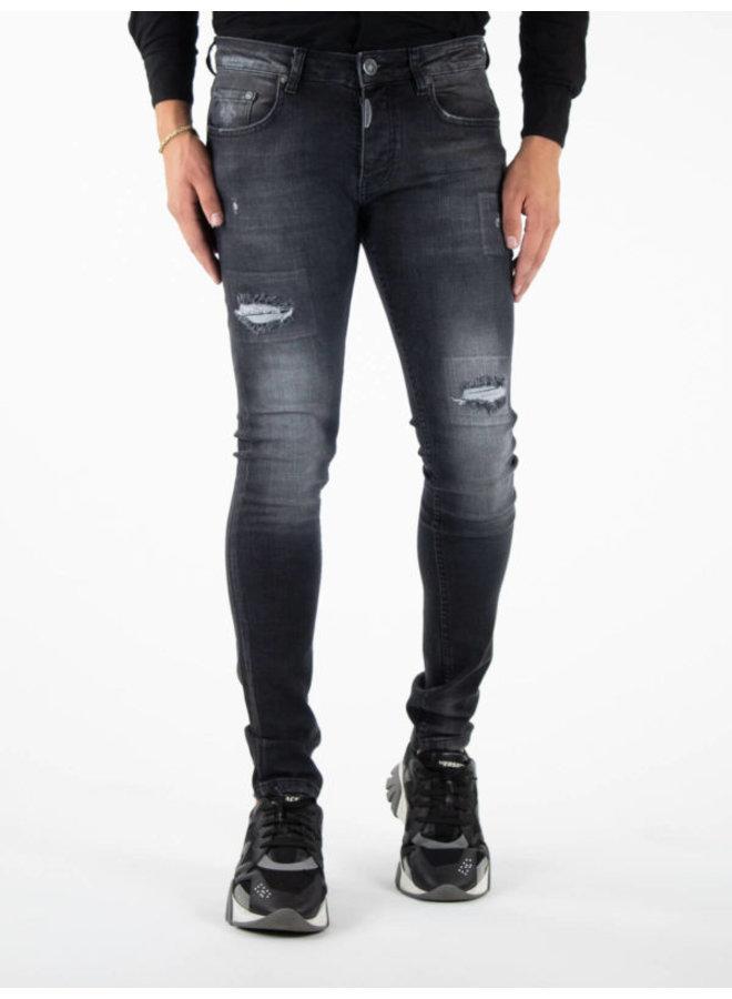 Verona Skinny Fit Jeans Black